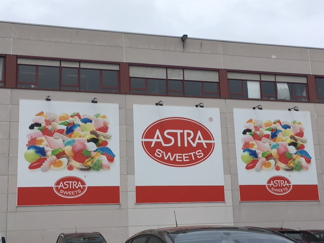 Rondleiding bij Astra Sweets in Turnhout
